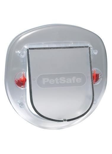 PETSAFE Petsafe Staywell 270 Ef Büyük Kedi/Küçük Köpek Manuel 4 Yönlü Kilitli Kapı Gri Gri